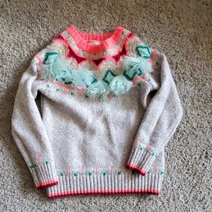 3T Girls Cat and Jack sweater